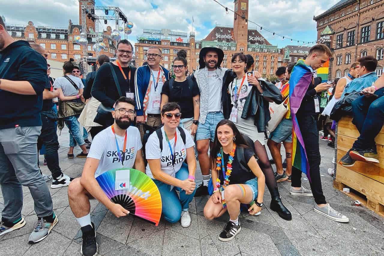 Скопје Прајд, граѓански организации и пратеници на Светската парада на гордоста во Данска